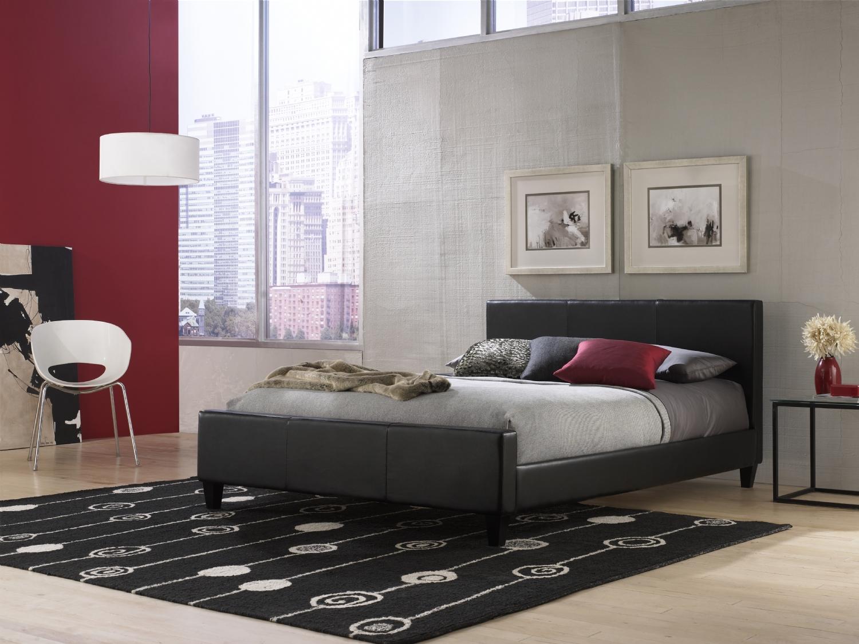 Fashion Bed Group Euro Platform Bed Black